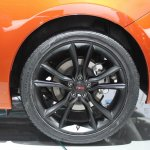 Dodge Dart Blacktop Package alloy wheel at NAIAS 2014