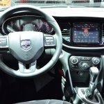 Dodge Dart Blacktop Package cockpit at NAIAS 2014