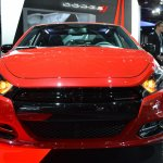 Dodge Dart Blacktop Package front view at NAIAS 2014