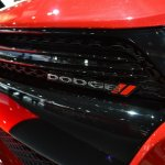Dodge Dart Blacktop Package grille at NAIAS 2014