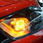 Dodge Dart Blacktop Package headlamp at NAIAS 2014