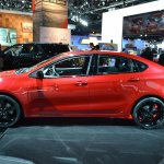 Dodge Dart Blacktop Package profile at NAIAS 2014