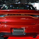 Dodge Dart Blacktop Package rear at NAIAS 2014