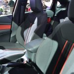 Dodge Dart Blacktop Package seats at NAIAS 2014