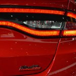 Dodge Dart Blacktop Package stoplamp at NAIAS 2014