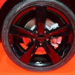 Dodge Dart Blacktop Package wheel at NAIAS 2014