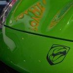 Dodge Viper Stryker Green Viper logo at NAIAS 2014