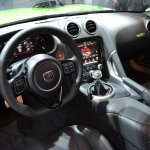 Dodge Viper Stryker Green dashboard at NAIAS 2014