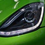 Dodge Viper Stryker Green daytime running lights at NAIAS 2014