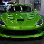 Dodge Viper Stryker Green front at NAIAS 2014