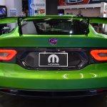 Dodge Viper Stryker Green rear at NAIAS 2014