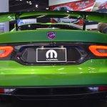 Dodge Viper Stryker Green rear profile at NAIAS 2014