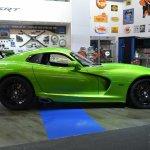 Dodge Viper Stryker Green side at NAIAS 2014