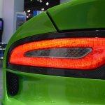 Dodge Viper Stryker Green taillight at NAIAS 2014