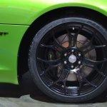 Dodge Viper Stryker Green wheel at NAIAS 2014