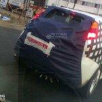 Fiat Punto Avventure rear view spyshot