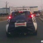 Fiat Punto Avventure spyshot rear