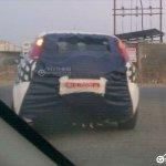 Fiat Punto Avventure testing in India