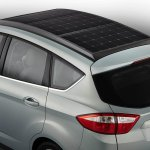 Ford C-MAX Solar Energi concept roof rear