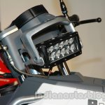 Hero RNT headlamp detail