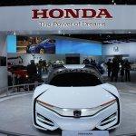 Honda FCEV Concept front at NAIAS 2014