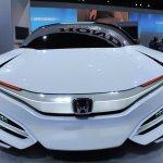 Honda FCEV Concept front fascia at NAIAS 2014