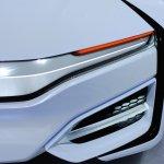 Honda FCEV Concept headlamp at NAIAS 2014