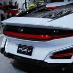 Honda FCEV Concept rear fascia at NAIAS 2014