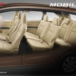 Honda Mobilio Indonesia cabin official image