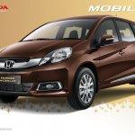 Honda Mobilio Indonesia front three quarters official image