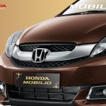Honda Mobilio Indonesia grille and badge official image