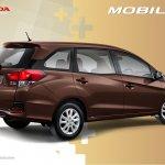 Honda Mobilio Indonesia rear three quarters official image