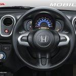 Honda Mobilio Indonesia steering wheel official image