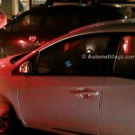 Honda Mobilio spied Indonesian streets center console