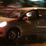 Honda Mobilio spied Indonesian streets front quarter