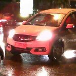 Honda Mobilio spied Indonesian streets front