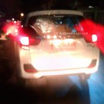 Honda Mobilio spied Indonesian streets rear 2