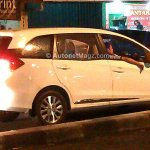 Honda Mobilio spied Indonesian streets right quarter