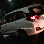 Honda Mobilio spied Indonesian streets side