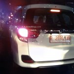 Honda Mobilio spied Indonesian streets taillight