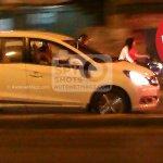 Honda Mobilio spied Indonesian streets