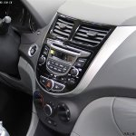 Hyundai Verna Facelift from China images center console