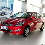 Hyundai Verna Facelift from China images front