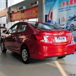 Hyundai Verna Facelift from China images rear