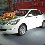 Hyundai Verna Facelift from China images