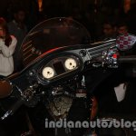 Indian Chieftain dashboard from the launch in India