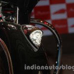 Indian Chieftain front light from the launch in India