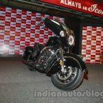Indian Chieftain front three quarters from the launch in India