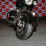 Indian Chieftain front tire and brake from the launch in India