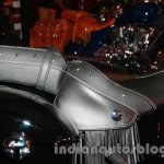 Indian Chieftain seat from the launch in India